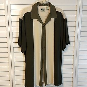 Vintage Silk camp shirt